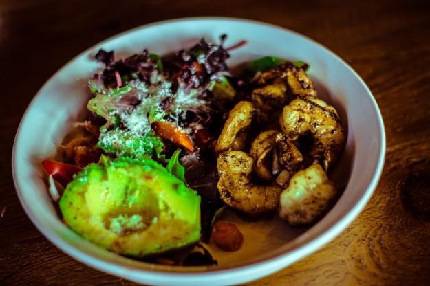 shrimp&salad dinner-1