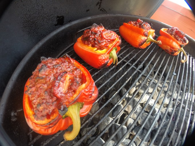 Grilled stuffed peppers-7